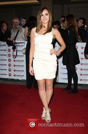 Hannah Tointon The Variety Club Showbiz Awards 2010 at the Grosvenor House Hotel  London, England - 14.11.10