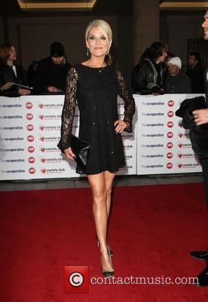 Zoe Lucker The Variety Club Showbiz Awards 2010 at the Grosvenor House Hotel  London, England - 14.11.10