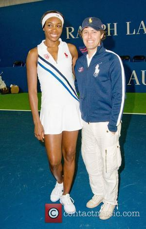Venus Williams And David Lauren, Venus Williams, Clinic, David Lauren and Ralph Lauren