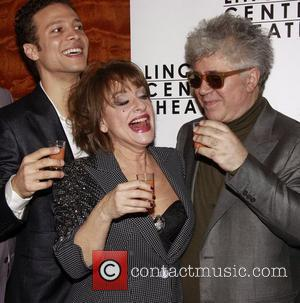 Justin Guarini, Patti Lupone and Pedro Almodovar