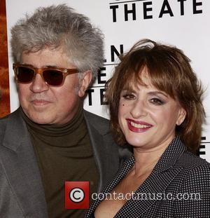 Pedro Almodovar and Patti Lupone