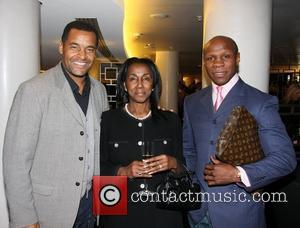 Mark Bright, Theresa Roberts and Chris Eubank The launch of Vertilon Bar at Hotel Verta featuring the Helicopter and Aston...