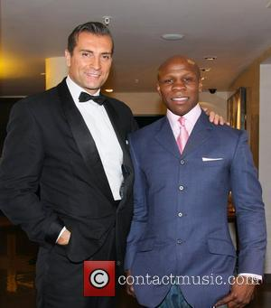 Chris Eubank The launch of Vertilon Bar at Hotel Verta featuring the Helicopter and Aston Martin from Goldfinger London, England...