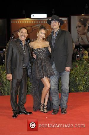 Jessica Alba and Robert Rodriguez