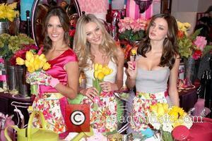 Alessandra Ambrosio, Candice Swanepoel and Miranda Kerr