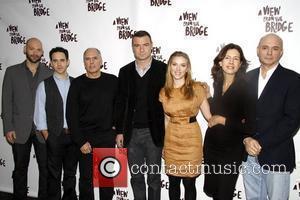 Corey Stoll, Liev Schreiber and Scarlett Johansson