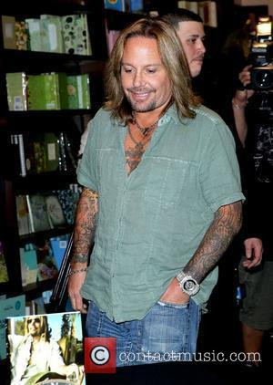 Vince Neil signs copies of his new book 'Tattoos & Tequila' at Barnes And Noble Las Vegas, Nevada - 29.09.10