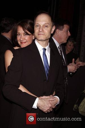 Karen Ziemba and David Hyde Pierce