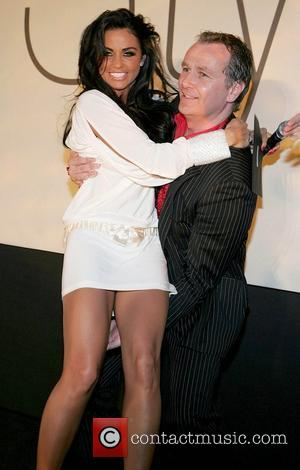 Katie Price and Presenting The Prize For Ireland's Most Stylish Man To Peter Mark