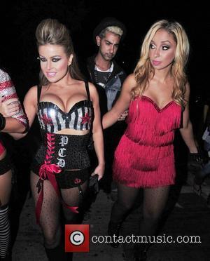 Carmen Electra and Pussycat Dolls
