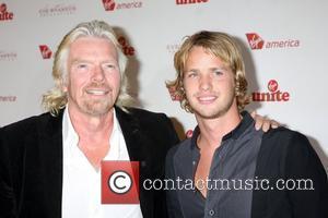 Richard Branson and Chandler