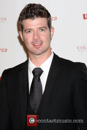 Robin Thicke  4th Annual Rock The Kasbah Gala In Support Of Virgin Unite held at the Dorothy Chandler Pavilion...
