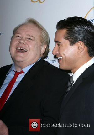 Louie Anderson and Mario Lopez