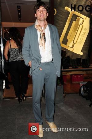 Alex James Vogue & Hogan fashion night out at the Hogan boutique. London, England - 08.09.10