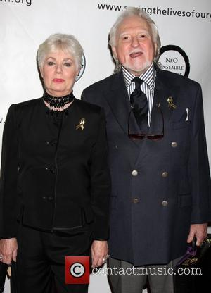 Shirley Jones and Marty Ingles  '1 Voice' Benefit for the Motion Picture Home at Renberg Theatre at The Village...
