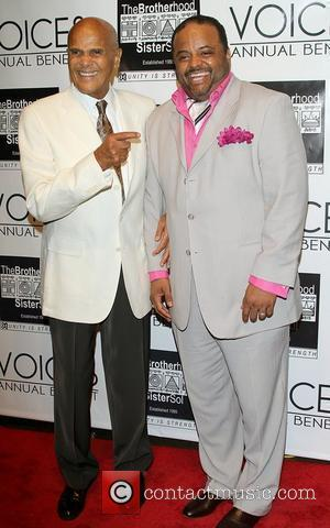 Harry Belafonte and Roland Martin The Brotherhood/Sister Sol 6th Annual 'Voices' Gala at Cedar Lake New York City, USA -...