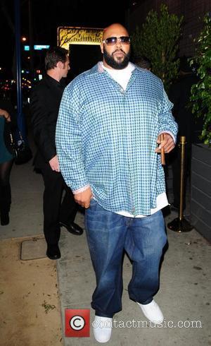 Suge Knight departs club Voyeur in West Hollywood Los Angeles, California - 03.03.10