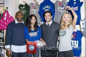 Brandon Jacobs, CHANEL, Erin Heatherton, Iman and Pink