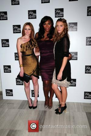 Alexis Bledel, Celebration, Katie Cassidy and Serena Williams