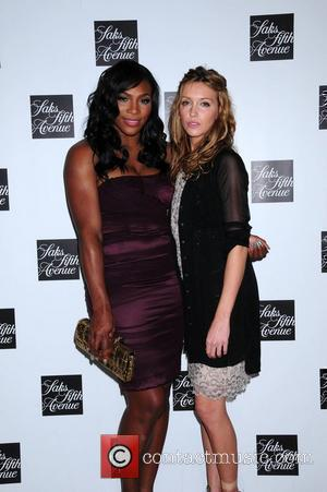 Serena Williams, Celebration and Katie Cassidy