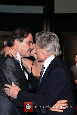 Oliver Stone, Michael Douglas and Wall Street