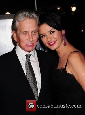 Michael Douglas, Wall Street, Catherine Zeta Jones, Ziegfeld Theatre
