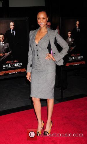 Tyra Banks The New York movie premiere of 'Wall Street: Money Never Sleeps' at the Ziegfeld Theatre - Arrivals New...