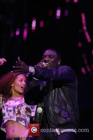 Akon KIIS FM's 2010 Wango Tango Concert - held at Staples Center Los Angeles, California - 16.05.10