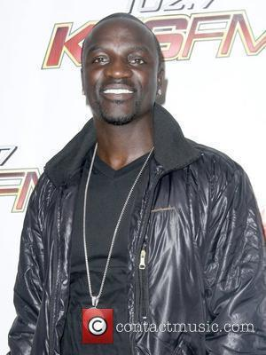 Akon KIIS FMOS Wango Tango 2010 - Arrivals held at Staples Center Los Angeles, California - 15.05.10