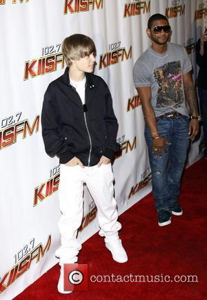 Singers Justin Bieber and Justin Bieber