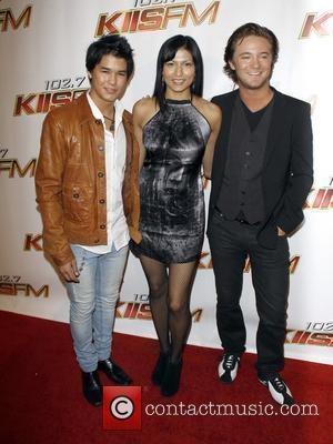 Tinsel Korey and Boo Boo Stewart attends the KIIS FM's 2010 Wango Tango Concert held at the Staples Center Los...
