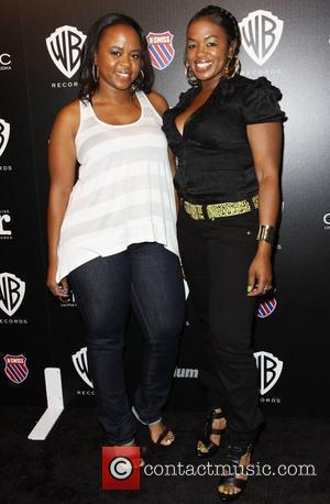 Snoop Dog's wife, Shante Broadus and Guest Warner Brothers Records Presents 2010 BET Pre-Party held at The Highlands. Hollywood, California,...