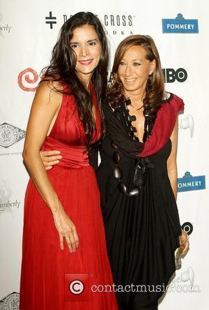 Patricia Velasquez and Donna Karan  The 7th Annual Wayuu Taya Foundation Gala at Stephan Weiss Studios, Greenwich Willage...