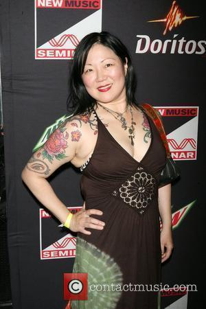 Margaret Cho ,  at the opening night party for the 2010 New Music Seminar at The Revolution Hall at...