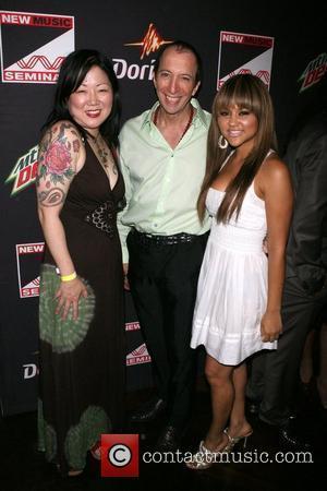 Margaret Cho, Tom Silverman and Kat Deluna