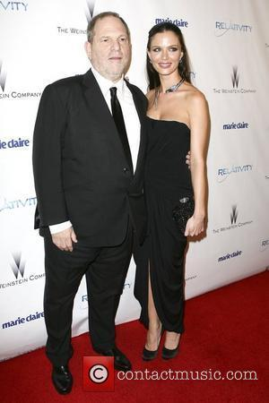Harvey Weinstein, Georgina Chapman Weinstein Company's Golden Globe Awards After Party - Arrivals  Los Angeles, California - 16.01.11
