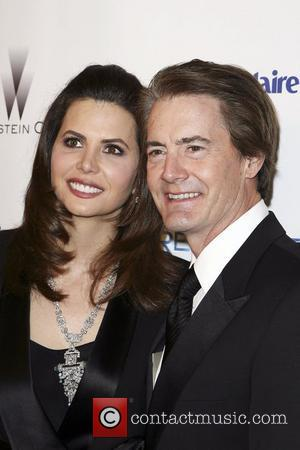 Kyle MacLachlan and his wife Desiree Gruber Weinstein Company's Golden Globe Awards After Party - Arrivals  Los Angeles, California...