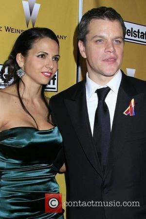 Matt Damon and Luciana Barroso The Weinstein Company's 2010 Golden Globe Awards After Party held at BAR 210 at The...