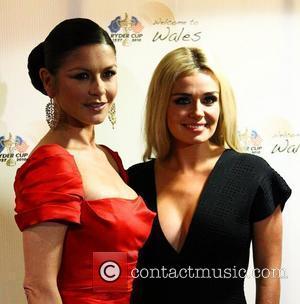 Catherine Zeta Jones and Katherine Jenkins