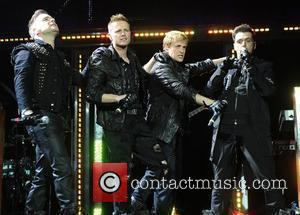 Shane Filan, Nicky Byrne, Kian Egan and Mark Feehily Westlife performing at the O2 Arena London, England- 13.05.10