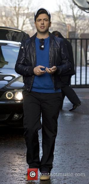 Mark Feehily Westlife leaving the GMTV studios London, England - 18.12.09