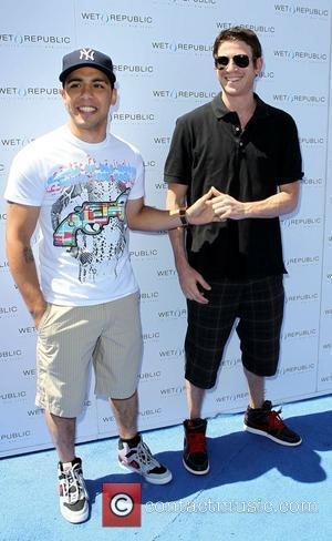 HBO's 'How To Make It In America' stars Bryan Greenberg and Victor Rasuk at Wet Republic, MGM Grand Resort and...