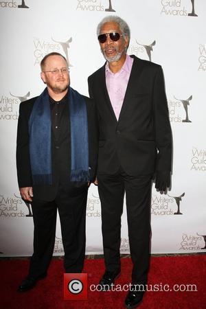 Anthony Peckham and Morgan Freeman