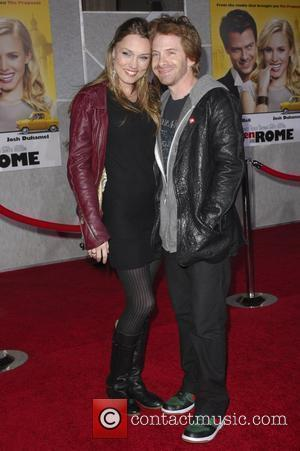 Seth Green and guest World Premiere of 'When In Rome' held at the El Capitan Theatre Hollywood, California - 27.01.10