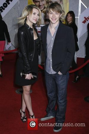 Chelsea Staub and Sterling Knight