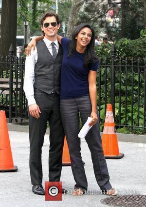 Matthew Bomer and Marsha Thomason are on location shooting the third season of USA Network's television series 'White Collar'. New...