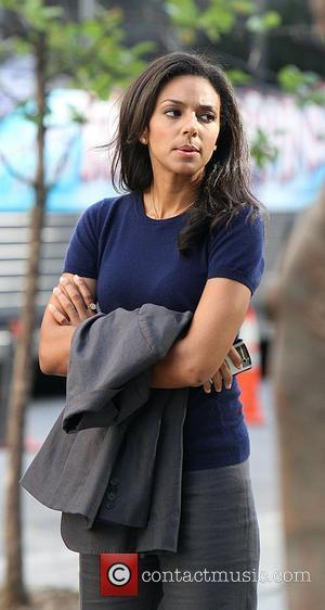 Marsha Thomason on location shooting the third season of USA Network's television series 'White Collar'. New York City, USA -...