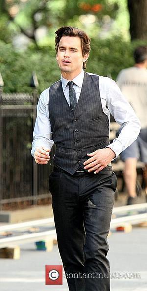 Matthew Bomer on location shooting the third season of USA Network's television series 'White Collar'. New York City, USA -...