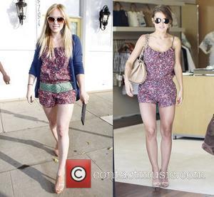 Hilary Duff and Audrina Patridge