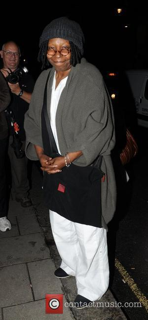 Whoopi Goldberg outside Claridges hotel in central London. London, England - 12.08.10